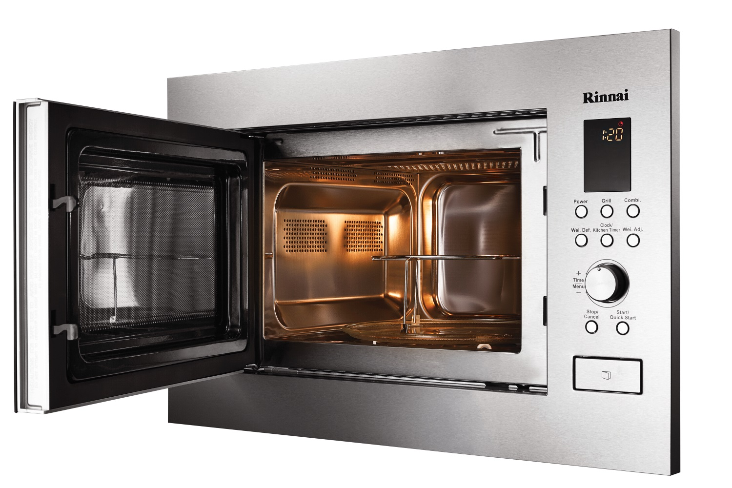 Ro M2561 Sm 25lt Built In Microwave With Grill Rinnai
