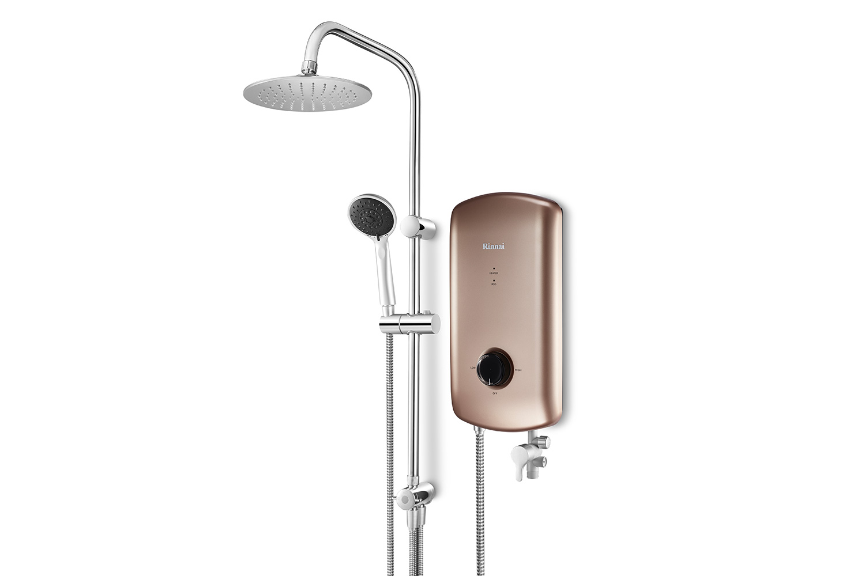 Crystal Electric Water Heater Rainshower Amp Dc Pump
