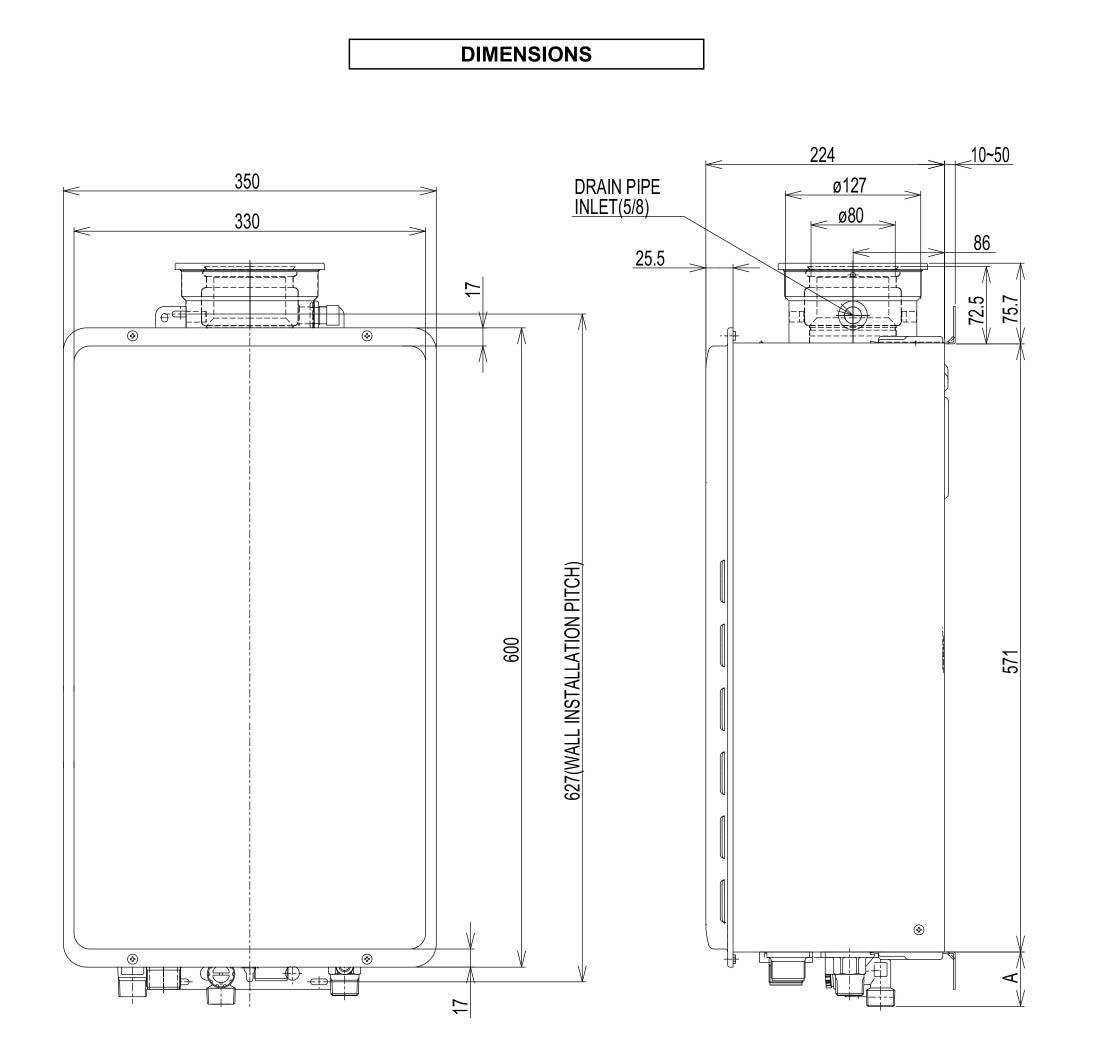 rinnai gas heater instruction manual